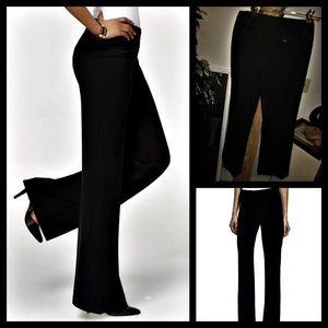 """NINE WEST BLACK DRESS PANTS """"CYNDI FIT"""" SIZE 4P PE"""